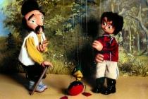 Marionnettes Pierre et le Loup