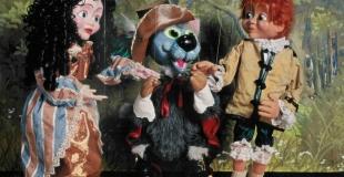 Le chat botté, spectacle de marionnettes, joué en arbre de Noël (78)