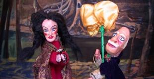 Les marionnettes du Parc Henri Barbusse en arbre de Noël (93)