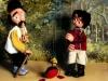 Spectacle de marionnettes, Pierre et le loup pour une Maison de Quartier (77)