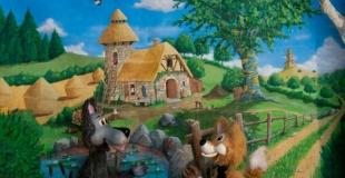 Spectacle de marionnettes joué pour les enfants du personnel (27)