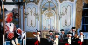 La symphonie des jouets, spectacle de marionnettes pour la fête de Noël d'un Centre de Loisirs (77)